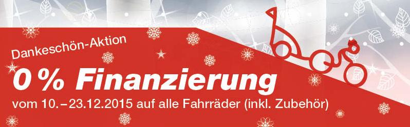 0%-Finanzierung bis 23.12.2015