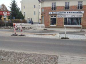 Blick Richtung Bäckerstraße