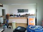 Nachher: Werkstatt- und Kassenbereich