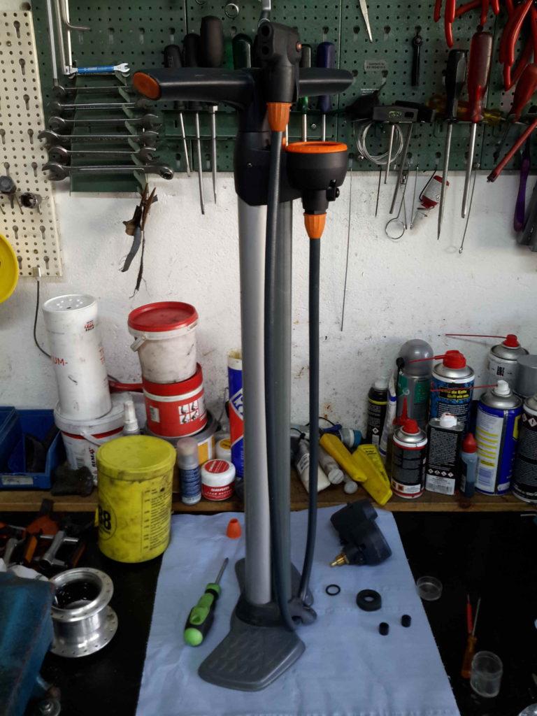 Pumpe wieder zusamengebaut - wie neu
